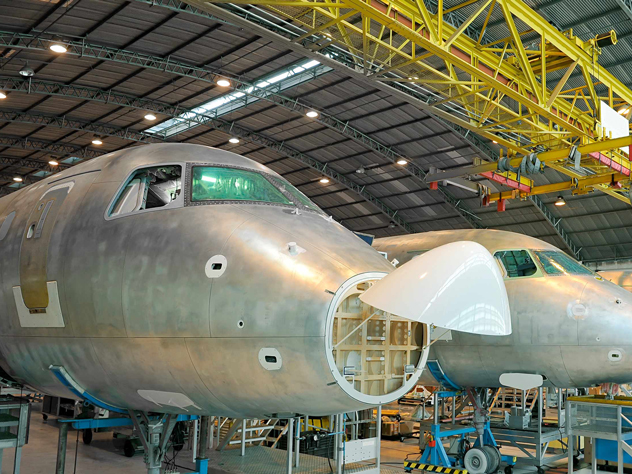 Aerospace Production Logistics Kuehne+Nagel